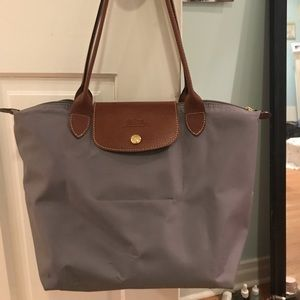 GRAY LONGCHAMP SMALL LE PLIAGE